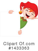 Royalty-Free (RF) Christmas Elf Clipart Illustration #1433363