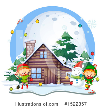 Cabin Clipart #1522357 by Graphics RF