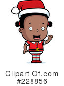 Christmas Elf Clipart #228856 by Cory Thoman
