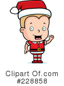 Christmas Elf Clipart #228858 by Cory Thoman