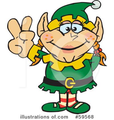 elves of christmas santa claus and christmas