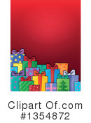 Royalty-Free (RF) Christmas Gift Clipart Illustration #1354872