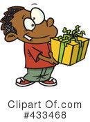 Christmas Gift Clipart #433468 by toonaday