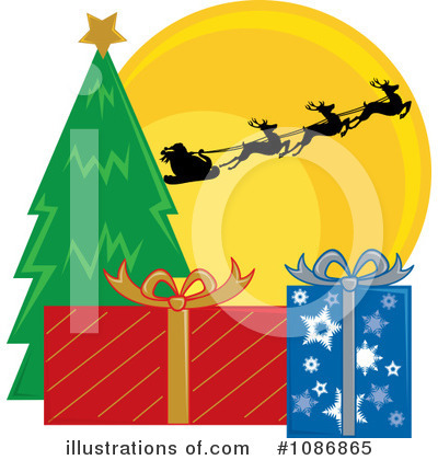Santa Clipart #1086865 by Pams Clipart