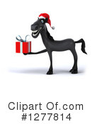 Christmas Horse Clipart #1277814