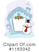 Royalty-Free (RF) christmas house Clipart Illustration #1163342
