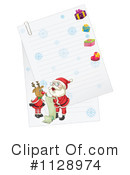 Christmas Letter Clipart #1128974 by Graphics RF