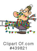 Christmas Lights Clipart #439821 by toonaday