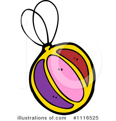 Royalty-Free (RF) Christmas Ornament Clipart Illustration by lineartestpilot - Stock Sample #1116525