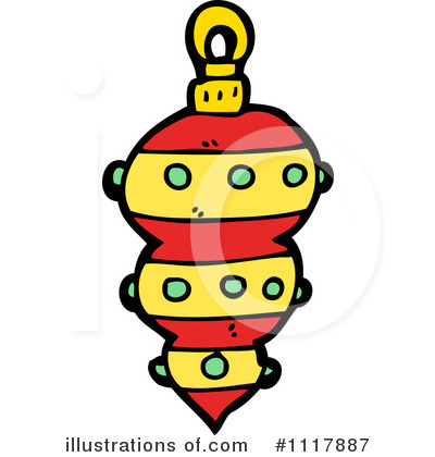 Christmas Ornament Clipart #1117887 by lineartestpilot