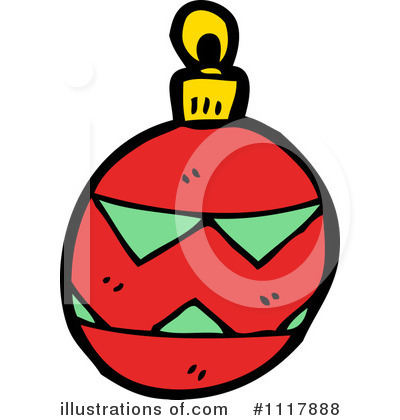 Christmas Ornament Clipart #1117888 by lineartestpilot