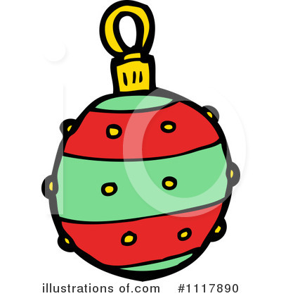 Christmas Ornament Clipart #1117890 by lineartestpilot