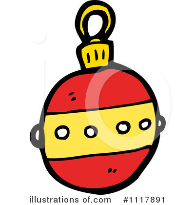 Christmas Ornament Clipart #1117891 by lineartestpilot