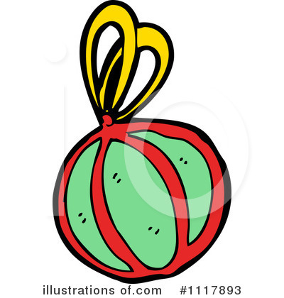 Christmas Ornament Clipart #1117893 by lineartestpilot