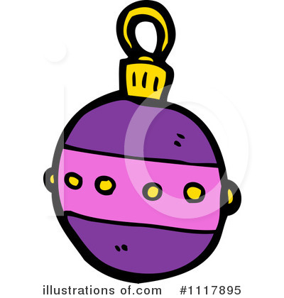 Christmas Ornament Clipart #1117895 by lineartestpilot