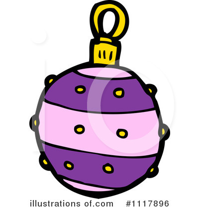 Christmas Ornament Clipart #1117896 by lineartestpilot