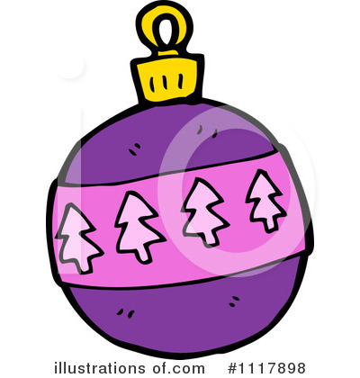Christmas Ornament Clipart #1117898 by lineartestpilot