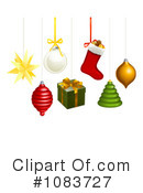Christmas Ornaments Clipart #1083727 by AtStockIllustration
