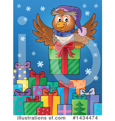 Christmas Gift Clipart #1434474 by visekart