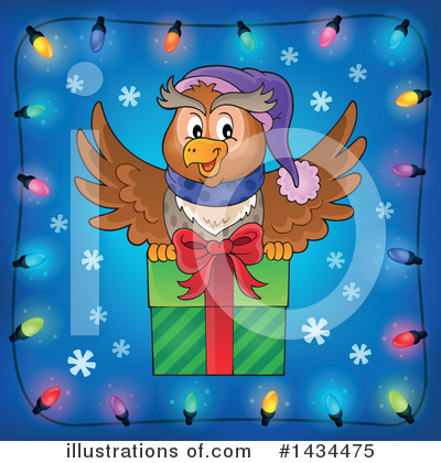 Christmas Gift Clipart #1434475 by visekart