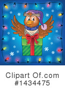 Royalty-Free (RF) Christmas Owl Clipart Illustration #1434475
