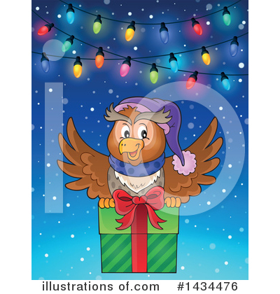 Christmas Gift Clipart #1434476 by visekart