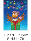 Royalty-Free (RF) Christmas Owl Clipart Illustration #1434476