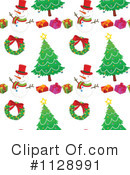 Christmas Pattern Clipart #1128991