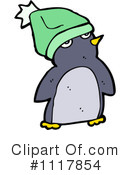 Christmas Penguin Clipart #1117854