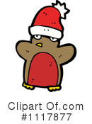 Christmas Penguin Clipart #1117877 by lineartestpilot
