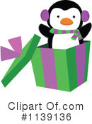Christmas Penguin Clipart #1139136