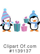 Christmas Penguin Clipart #1139137