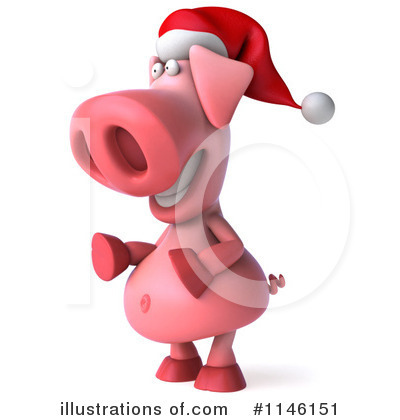 Pookie Pig Character Clipart #1146151 by Julos