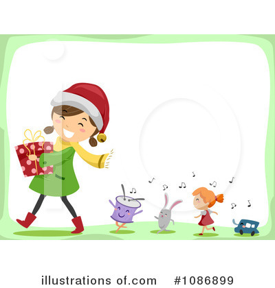 Christmas Background Clipart #1086899 by BNP Design Studio