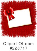 Royalty-Free (RF) Christmas Present Clipart Illustration #228717