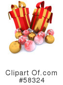 Christmas Presents Clipart #58324 by KJ Pargeter