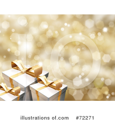 Christmas Gift Clipart #72271 by KJ Pargeter