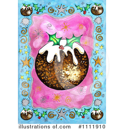 Royalty-Free (RF) Christmas Pudding Clipart Illustration by Prawny - Stock Sample #1111910