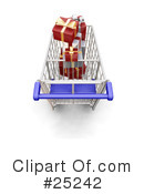 Christmas Shopping Clipart #25242