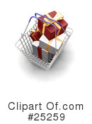 Christmas Shopping Clipart #25259
