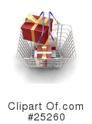 Christmas Shopping Clipart #25260