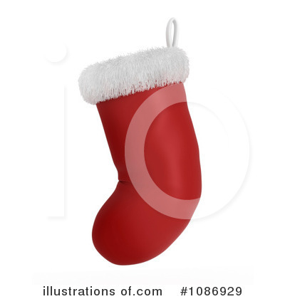 Christmas Stockings Clipart #1086929 by BNP Design Studio