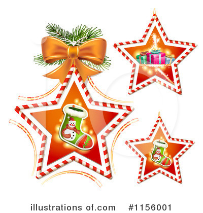 Christmas Stocking Clipart #1156001 by merlinul