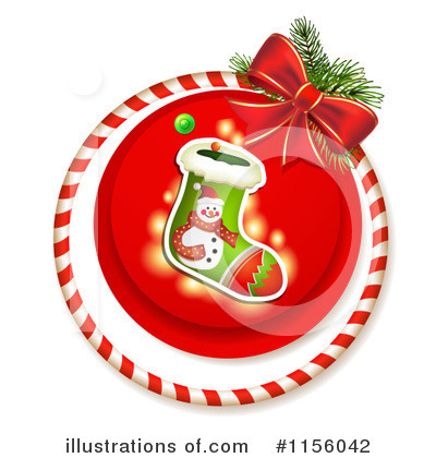 Christmas Stocking Clipart #1156042 by merlinul