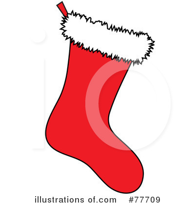 Christmas Stockings on Christmas Stocking Clipart  77709 By Pams Clipart   Royalty Free  Rf