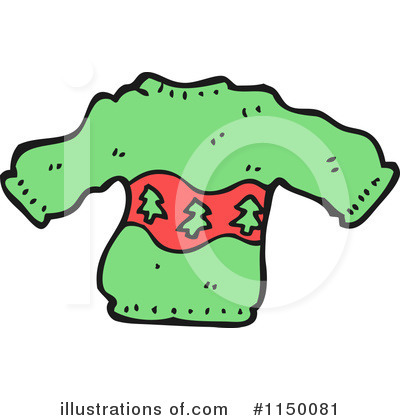 Christmas Sweater Clipart #1150081 by lineartestpilot