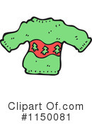 Royalty-Free (RF) Christmas Sweater Clipart Illustration #1150081