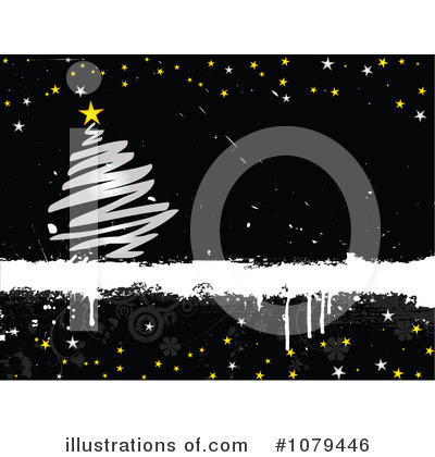 Royalty-Free (RF) Christmas Tree Clipart Illustration by KJ Pargeter - Stock Sample #1079446