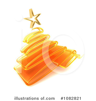 Christmas Tree Clipart #1082821 by KJ Pargeter