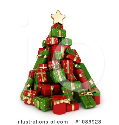 Christmas Present Clipart #1086923 by BNP Design Studio